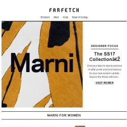 [Farfetch] Marni | 300+ pieces and more