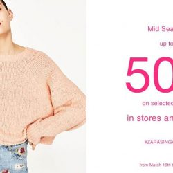 Zara: Mid-Season Sale – Up to 50% OFF Selected Items In Stores & Online!