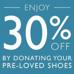 Clarks: Donate your Old Shoes for 30% OFF your New Shoes