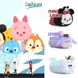 CapitaLand Malls: Disney Tsum Tsum Parade on 2 March 2017 & Redeem Tsum Tsum Huggables!