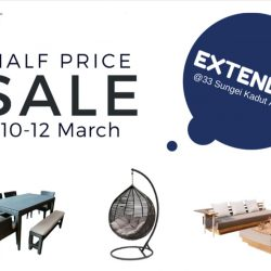 Natural Living: Half Price Storewide Sale on Resort Style Furniture Extended!