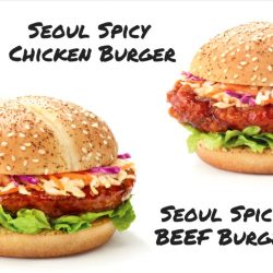 McDonald's: Try the NEW Seoul Spicy Chicken Burger, Seoul Spicy Beef Burger & Kimchi Shaker Fries!
