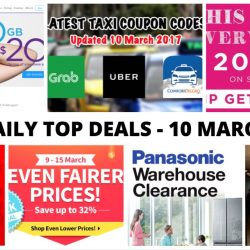 BQ's Daily Top Deals: AirAsia FREE Seats, 20GB Mobile Data for $20, $1 Cedele Muffin, 20% OFF at Sasa, New Taxi Coupon Codes & More!
