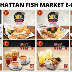 The Manhattan FISH MARKET: Save Up to 50% on Your Favourite Fish 'n Chips & More with these e-Coupons!