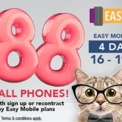 Singtel: Easy Mobile Online Sale with $188 OFF All Phones for New Sign Up or Recontract!