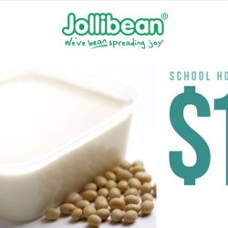 Jollibean: Pay only $1 on your 2nd Classic Soy Pudding with Your Student Card!