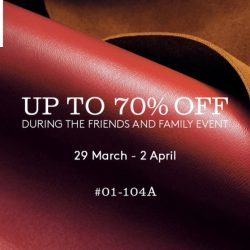 IMM: Coach Outlet's Friends & Family Event with Up to 70% OFF