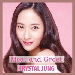 [Etude House Singapore] Krystal Jung is coming to Singapore on 16th April!