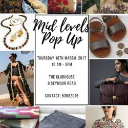 [Taara] Come by our Midlevels Pop Up Thursday March 16th for some bubbles and shopping!