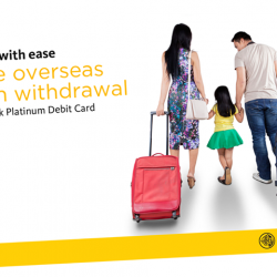 [Maybank ATM] Did you know that you can activate your Maybank Platinum Debit Card and set the period of your travels for