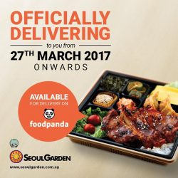[Seoul Garden Singapore] Save-the-date!