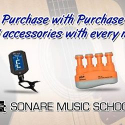 [Sonare Music School] The March school holidays might be over, but our new instrument promotions are still going on!