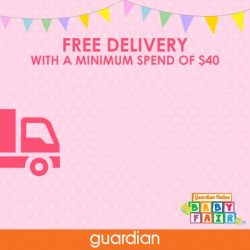 [Guardian Pharmacy] We are providing free home delivery for your buys from the exclusive Guardian Online Baby Fair!