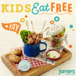 [Jamie's Italian] School's out, treat your kids to nutritionally balanced meal that looks good and taste even better!