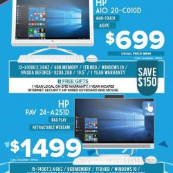 [Newstead Technologies] Visit booth 305, 8105 & 8150 @ IT Show to find best savings and attractive free gifts on latest HP laptops & computers,