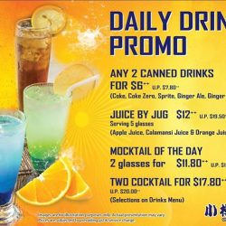 [Otaru Suisan] Drinks promo, all day, everyday!