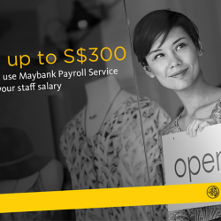 [Maybank ATM] Here at Maybank SME Banking, you can experience simple and hassle free payroll solutions to run your business efficiently.