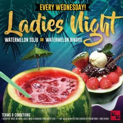 [CHICKEN UP] LADIES TONIGHT IS YOUR NIGHT AGAIN!