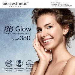 [Bio Aesthetic] Get the latest BB Glow treatment with FREE Brightening Peel at only $380!