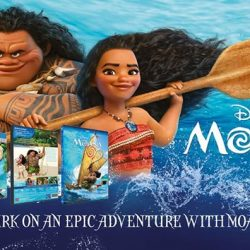 [Poh Kim VCD/DVD] MOANA (DVD & Blu-ray) comes 💜💛, an epic adventure about a spirited teen who sets sail on a daring mission to