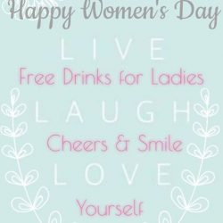 [Sumire Yakitori House] Happy Women's Day 💃🏻 Free Drinks 🍹🍸🍷for Ladies Night Sumire Yakitori House Cheers & Smile 👯🙆 Love yourself