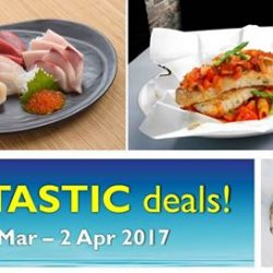 [Marina Square] From 9 Mar to 2 Apr, here are some awesome dining deals for your enjoyment.
