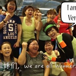 [Marina Square] Remember that time when Venus Seow came by for a Zumba class?