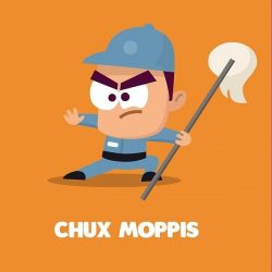 [Boost Juice Bars Singapore] Chux Moppis isn't afraid to get dirty when it comes to protecting his favourite Boost store.