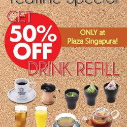 [Hoshino Coffee Singapore] Afternoon Limited promotion at Plaza Singapura Outlet!
