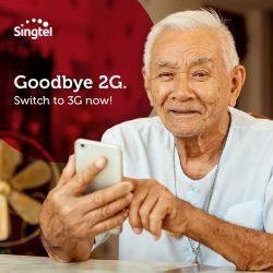 [Singtel] Are your parents or grandparents still using a 2G phone?