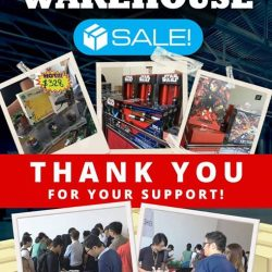[PLAYe] Thank you for making our first warehouse sale a big success!