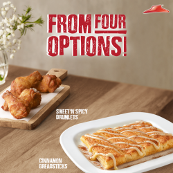 [Pizza Hut Singapore] Why stop at one pizza when you can have TWO, along with a bonus of FREE sides?