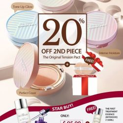 [Missha Singapore] Get your weekend off to a great start with our March-velous Sale!