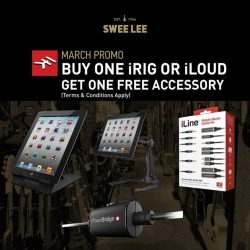 [Swee Lee Music] There's a new IK Multimedia offer at Swee Lee—and it starts today!