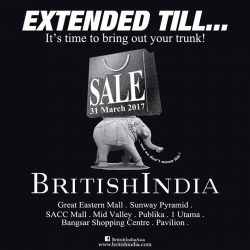 [BritishIndia] We know all too well that the sale ended too soon.