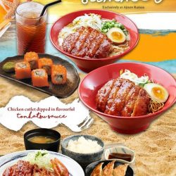 [Ajisen Ramen Dining] It's summer in Singapore all year round.