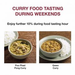 [MUJI Singapore] If you're out this weekend, do drop by our stores to have a taste on the Poo Phad Pong