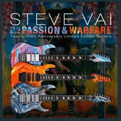 "[Swee Lee Music] To mark the 25th anniversary of Stev Vai's breakthrough album ""Passion and Warfare"", Ibanez have released these 3 very"