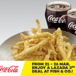 [Lazada Singapore] Lazada is collaborating with Coca-Cola and Fish & Co.