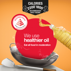 [Crawfurd Medical] Vegetable oil is not as healthy as it seems as it contains about 50% saturated fats.