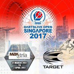 [Craftholic Singapore] Thank you Target Darts to be part of this event's sponsorship.