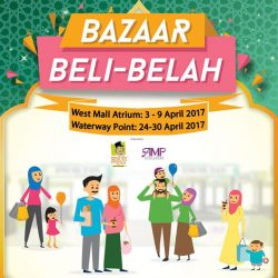 [Encik Tan] Come join us at West Mall Atrium from 3-9 April 2017 and Waterway Point Event Square @ B2 from 24-