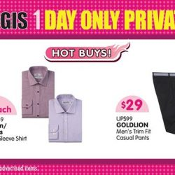 [BHG Singapore] Check out our HOT BUYs for the ladies & gentlemen RIGHT NOW at BHG Bugis Private Sale for TODAY 11 Mar(