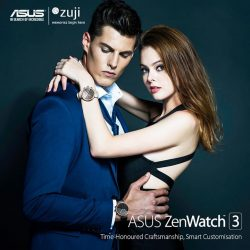 [Newstead Technologies] Purchase a pair of ZenWatch 3 at our ASUS brand stores and receive a ZUJI Travel Voucher worth $100 free!
