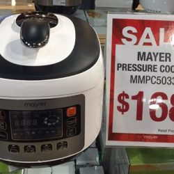[MAYER] With using Mayer Pressure Cooker MMPC5033 By Chef Irene NOW ONLY AT $168 Grab yours today at Mayer showroom @ IMM