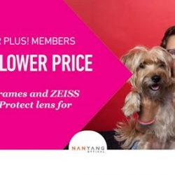 [Nanyang Optical] Are you NTUC Plus Member?