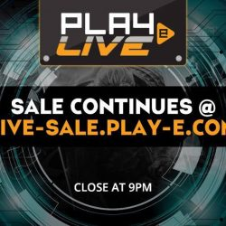 [PLAYe] Thank you for joining us for today's live sale!