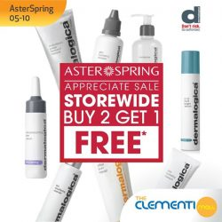 [The Clementi Mall] Good news for all fans of Dermalogica Singapore!