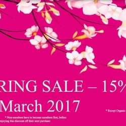 [Four Seasons Organic Market] Spring Sale - Friday 31 March only !