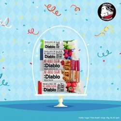 [Choco Express] Diablo goodies have all the flavour, without any of the naughty added sugar!